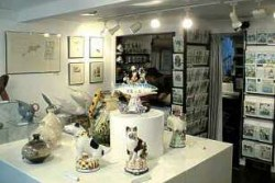 Devon galleries and Devon exhibitions